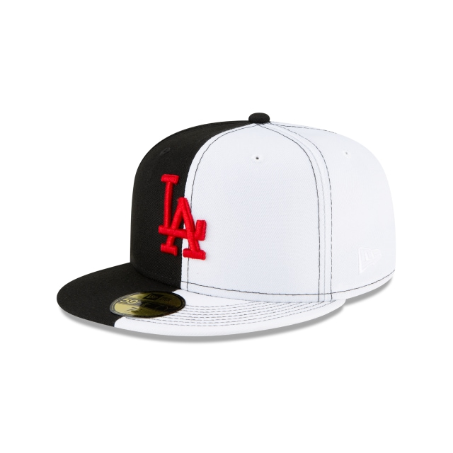 Los Angeles Dodgers Split Crown 100th Anniversary 59FIFTY Cerrada | Gorras de Los Angeles Dodgers | New Era México