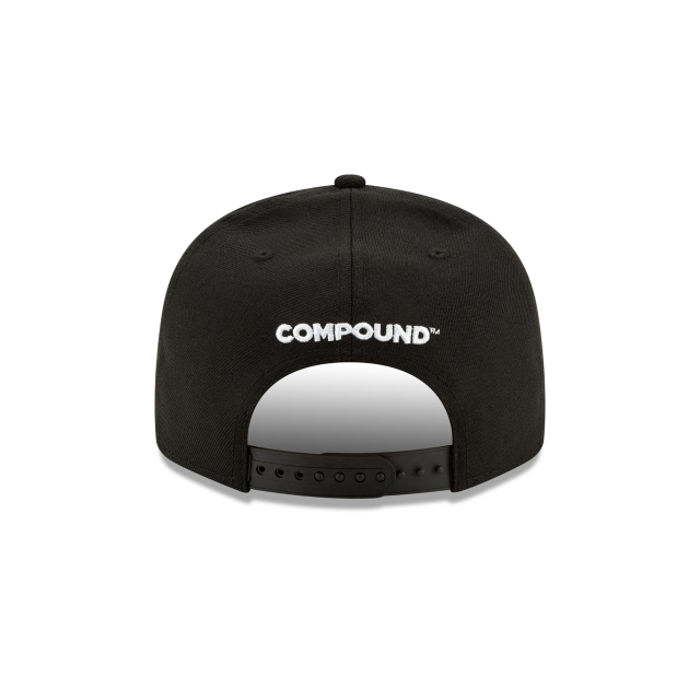 Brooklyn Nets Compound  9FIFTY Snapback | Gorras de Brooklyn Nets | New Era México