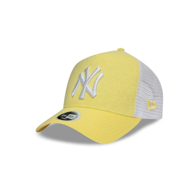 New York Yankees Jersey Essential de Mujer 9FORTY AF Trucker Strapback | Gorras de Ny Yankees | New Era México