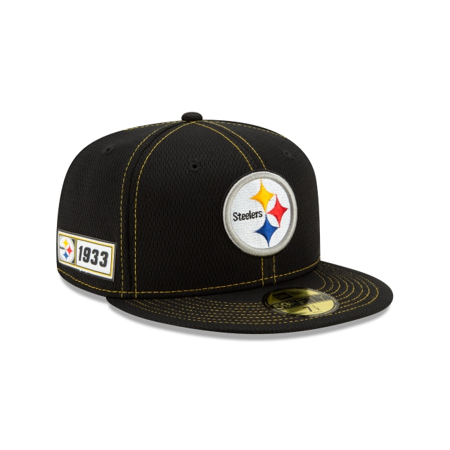 Pittsburgh Steelers NFL Sideline Established Road  59FIFTY Cerrada | Gorras de Pittsburgh Steelers | New Era México