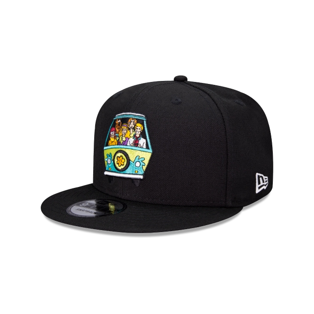 Scooby Doo The Mystery Machine Warner Bros 9FIFTY Snapback Negra | Gorras Scooby Doo | New Era México