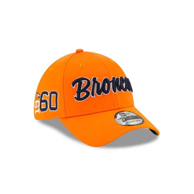 Denver Broncos Nfl Sideline Established Home  39thirty Elástica | New Era Cap