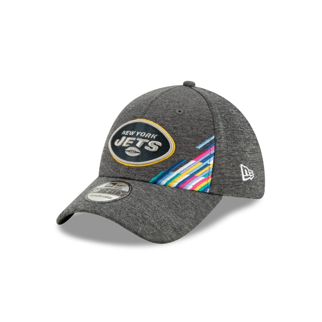 New York Jets NFL Crucial Catch 2019  39THIRTY Elástica | Gorras de New York Jets | New Era México