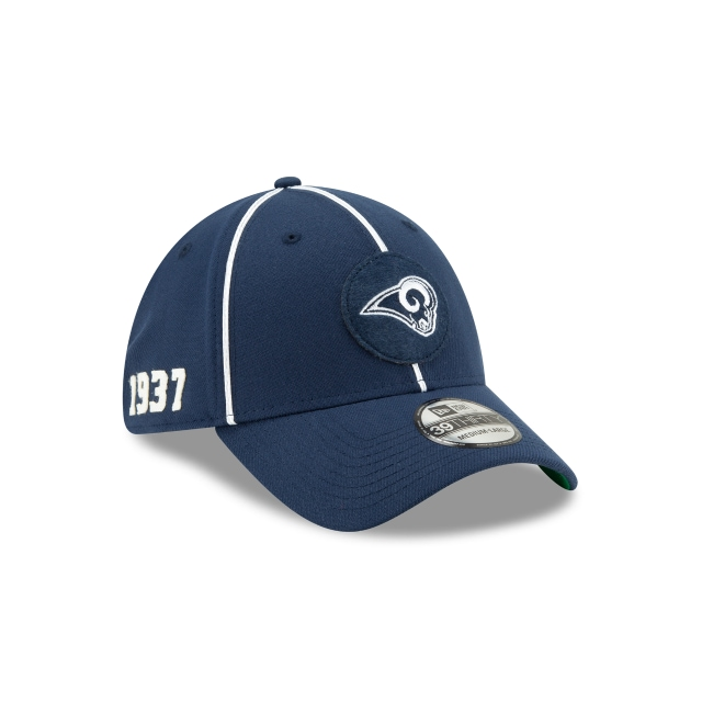 Los Angeles Rams NFL Sideline Established Home  39THIRTY Elástica | Gorras de Los Angeles Rams | New Era México