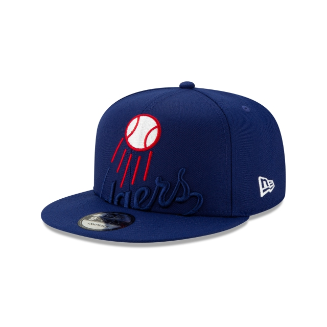 Los Angeles Dodgers Mlb Logo Elements  9fifty Snapback | New Era Cap