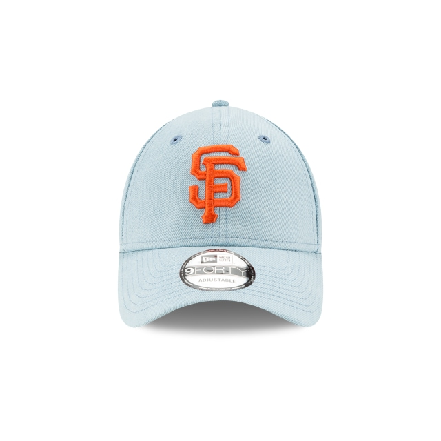 San Francisco Giants Denim Light  9FORTY Strapback | Gorras de San Francisco Giants | New Era México