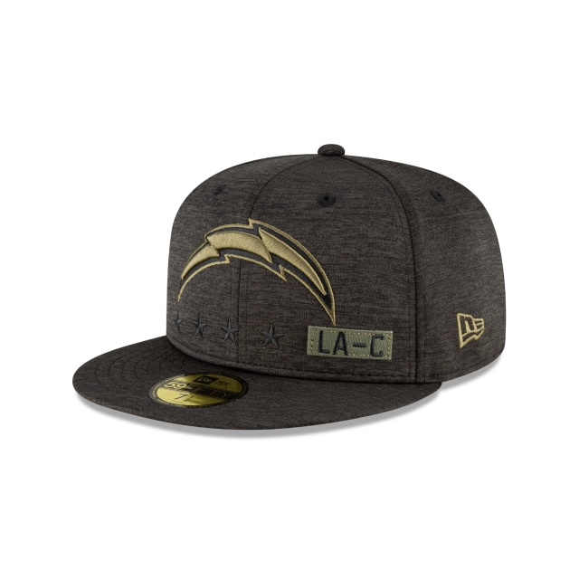 Los Angeles Chargers NFL Salute To Service 2020  59FIFTY Cerrada | Gorras de Los Angeles Chargers | New Era México