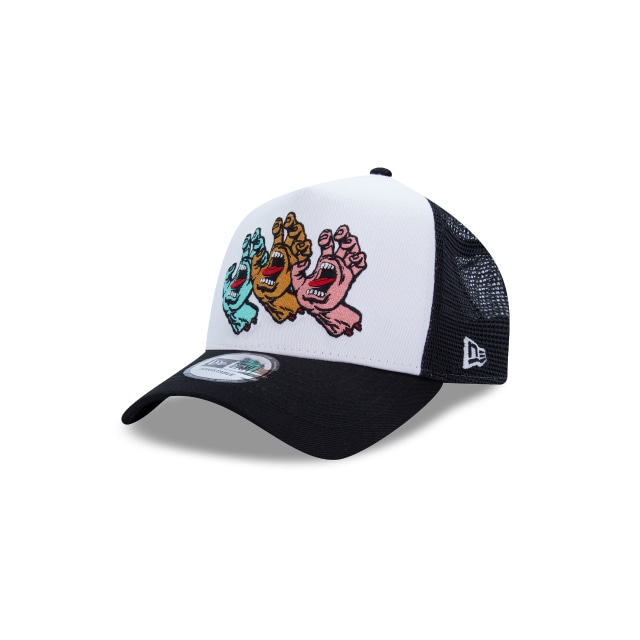 Screaming Hand Santa Cruz  9forty Strapback | New Era Cap