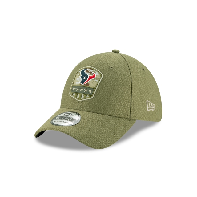 Houston Texans Nfl Salute To Service 2019  39thirty Elástica | New Era Cap