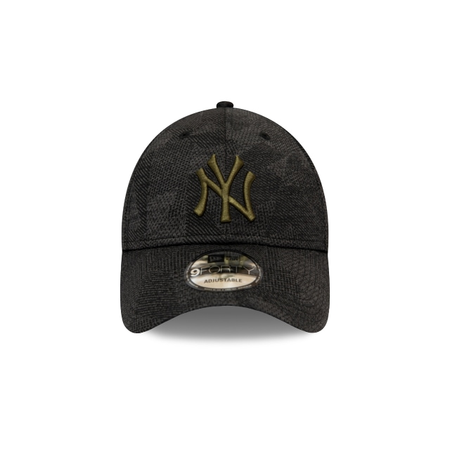 New York Yankees Geometric Camo  9FORTY Strapback | Gorras de Ny Yankees | New Era México