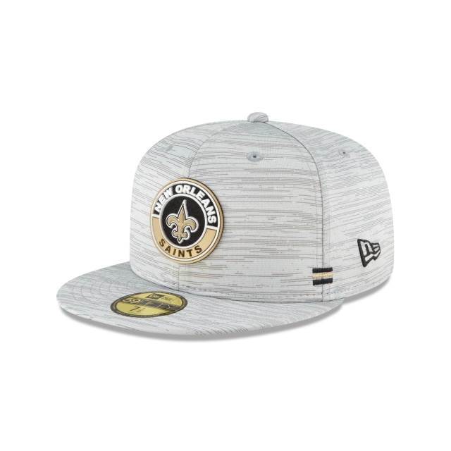 New Orleans Saints NFL Sideline  59FIFTY Cerrada | Gorras de New Orleans Saints | New Era México