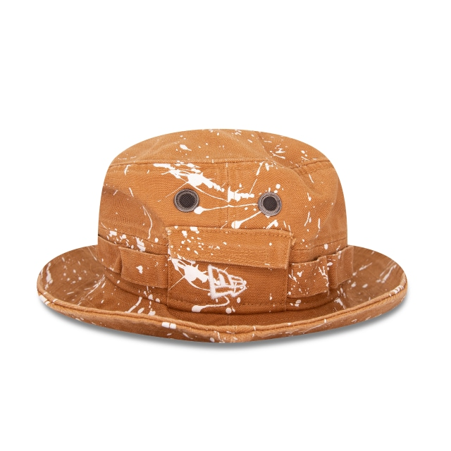 New Era Splash Paint Bucket Marrón | Delivery 4 Caps | New Era Cap