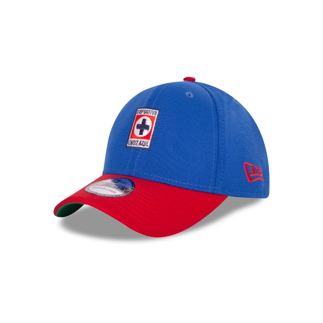 Cruz Azul Retro Collection  39thirty Elástica | Cruz Azul Caps | New Era Cap