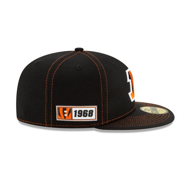 Cincinnati Bengals Nfl Sideline Established Road  59fifty Cerrada | Cincinnati Bengals Caps | New Era Cap