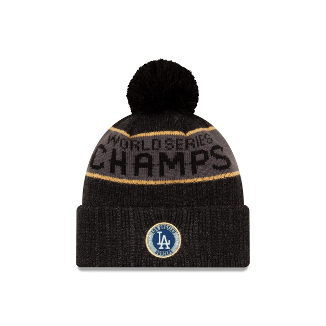 Los Angeles Dodgers World Series Champions Locker Room Knit | Gorras de Los Angeles Dodgers | New Era México