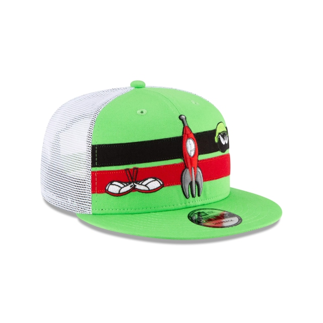 Marvin The Martian Entertainment Elements  9FIFTY Trucker Snapback | Gorras Entertainment Elements | New Era México