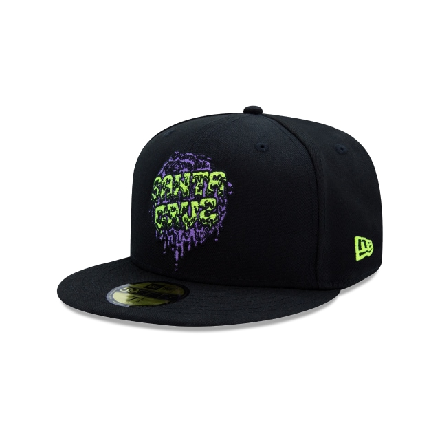 New Era Slime Dot Santa Cruz  59fifty Cerrada | New Era Cap