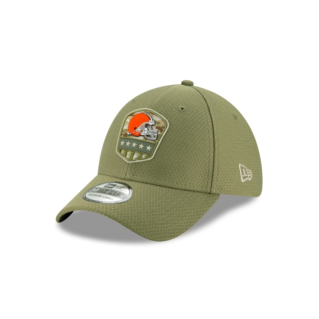Cleveland Browns Nfl Salute To Service 2019  39thirty Elástica | New Era Cap