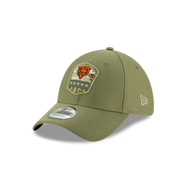 Chicago Bears Nfl Salute To Service 2019  39thirty Elástica | New Era Cap