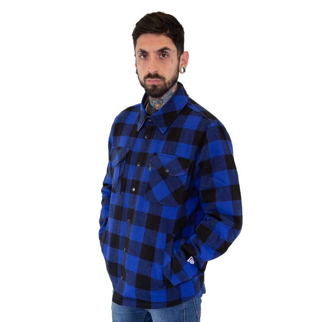 Chamarra New Era Plaid Thinsulate Azul | Plaid Insulated | New Era México