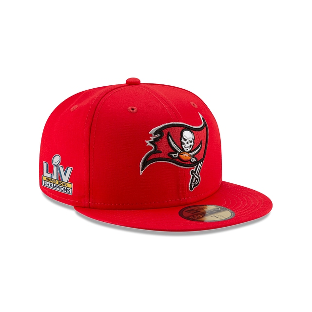 Tampa Bay Buccaneers Super Bowl Lv Champions Side Patch 59FIFTY Cerrada | Gorras de Tampa Bay Buccaneers | New Era México