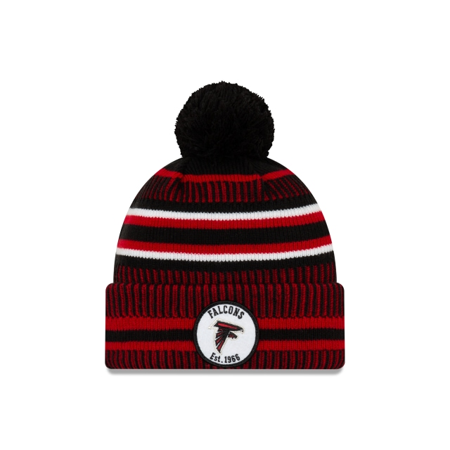 Atlanta Falcons Nfl Cold Weather 2019  Knit | Atlanta Falcons Caps | New Era Cap