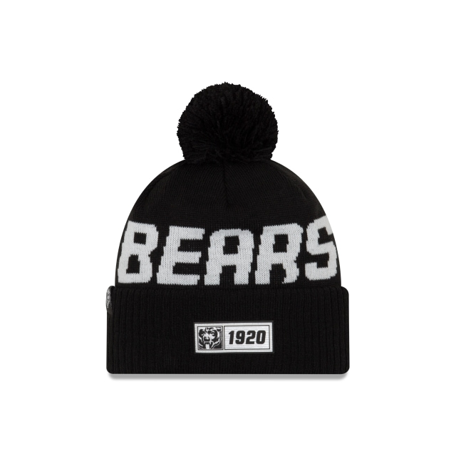 Chicago Bears Nfl Cold Weather 2019  Knit | New Era Cap