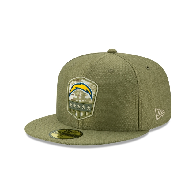 Los Angeles Chargers Nfl Salute To Service 2019  59fifty Cerrada | New Era Cap