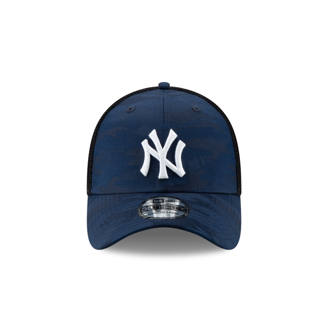 New York Yankees Camo Front 39thirty Elástica | New York Yankees Caps | New Era Cap