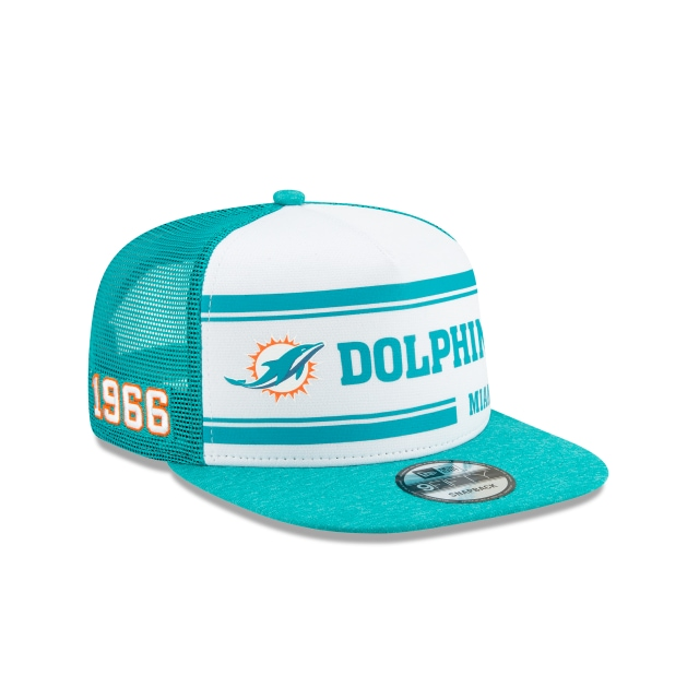 Miami Dolphins Nfl Sideline Established Home  9fifty Snapback | New Era Cap