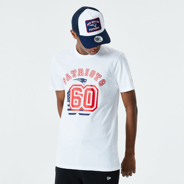 Playera Manga Corta New England Patriots | New England Patriots NFL Core | New Era México