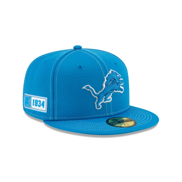 Detroit Lions NFL Sideline Established Road  59FIFTY Cerrada | Gorras de Detroit Lions | New Era México