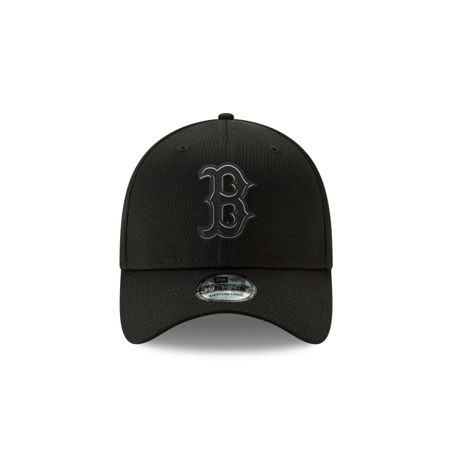 Boston Red Sox Clubhouse Black Edition 2019 39thirty Elástica | Boston Red Sox Caps | New Era Cap