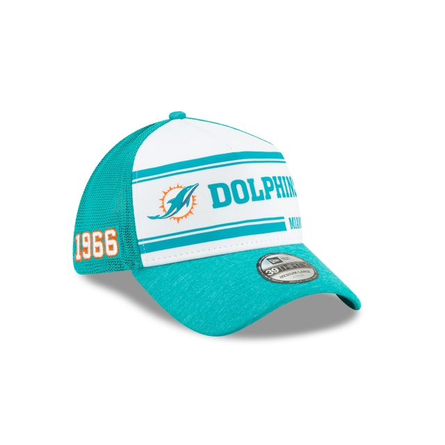 Miami Dolphins Nfl Sideline Established Home  39thirty Elástica | New Era Cap