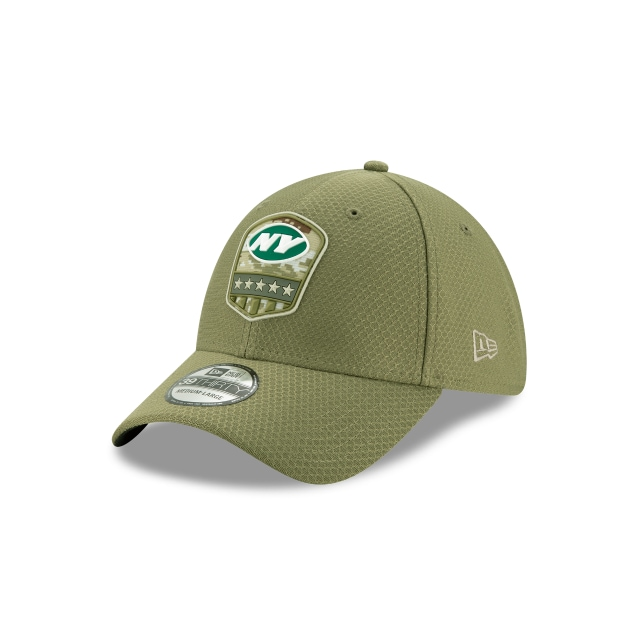 New York Jets NFL Salute To Service 2019  39THIRTY Elástica | Gorras de New York Jets | New Era México