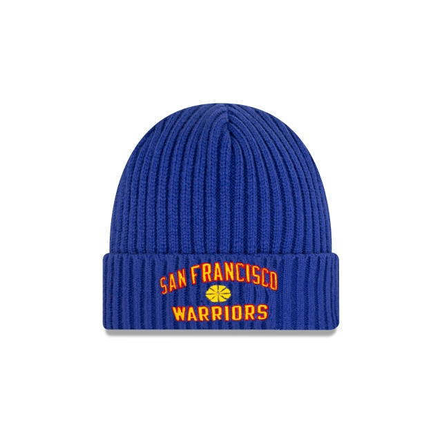 Golden State Warriors Nba Hardwood Classics  Knit | Golden State Warriors Caps | New Era Cap