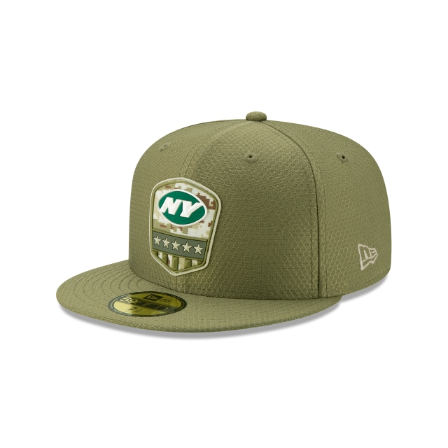 New York Jets NFL Salute To Service 2019  59FIFTY Cerrada | Gorras de New York Jets | New Era México