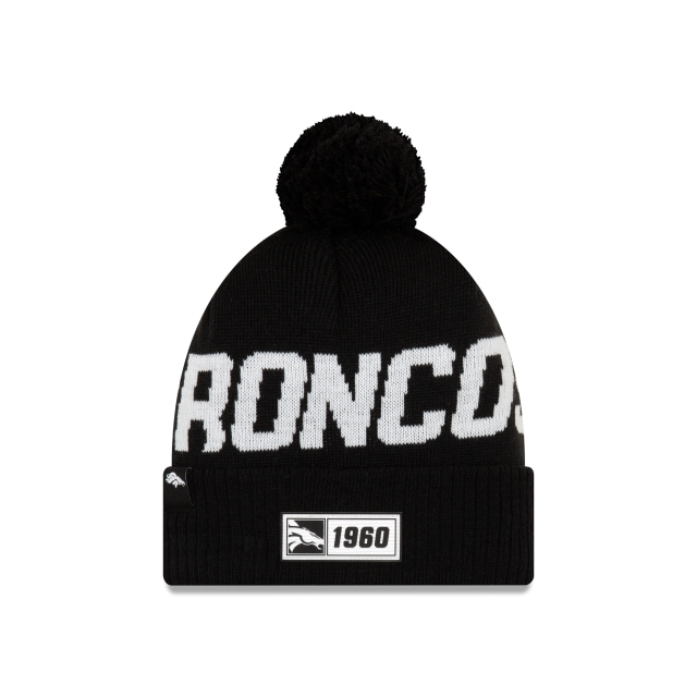 Denver Broncos Nfl Cold Weather 2019  Knit | New Era Cap
