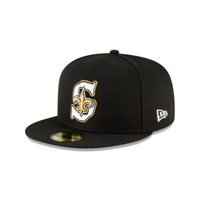 New Orleans Saints NFL Logo Mix  59FIFTY Cerrada | Gorras de New Orleans Saints | New Era México