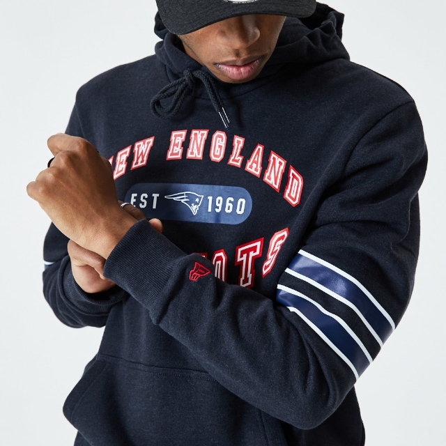 Sudadera New England Patriots | New England Patriots NFL Wordmark Graphic | New Era México