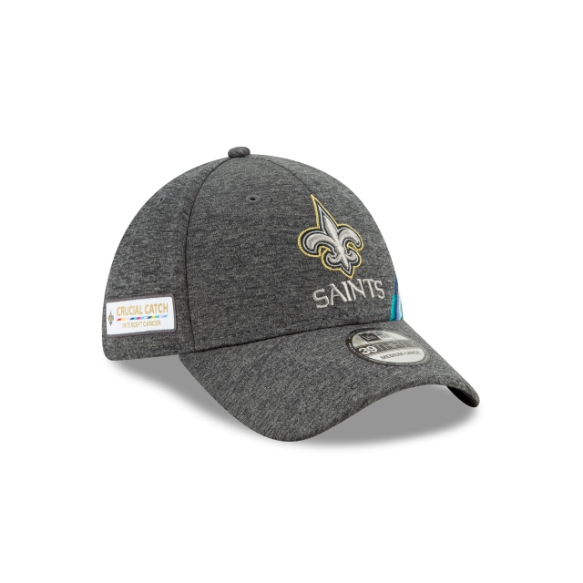 New Orleans Saints NFL Crucial Catch 2019  39THIRTY Elástica | Gorras de New Orleans Saints | New Era México