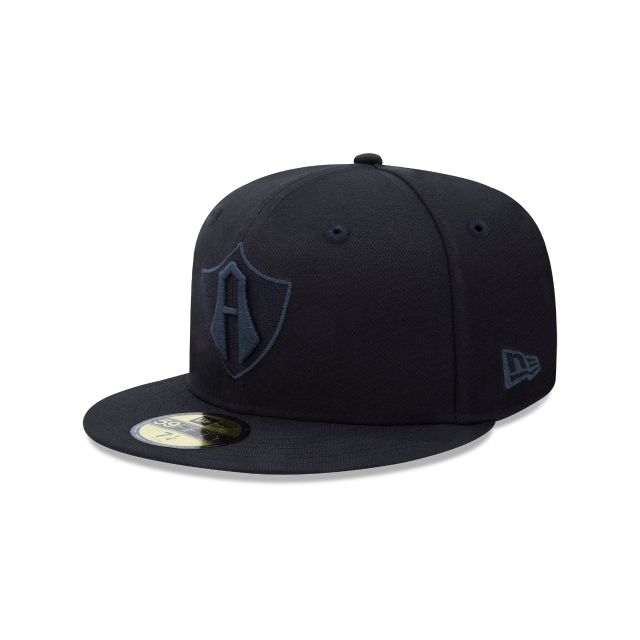 Atlas de Guadalajara Basics Black On Black  59FIFTY Cerrada | Gorras de Atlas de Guadalajara | New Era México