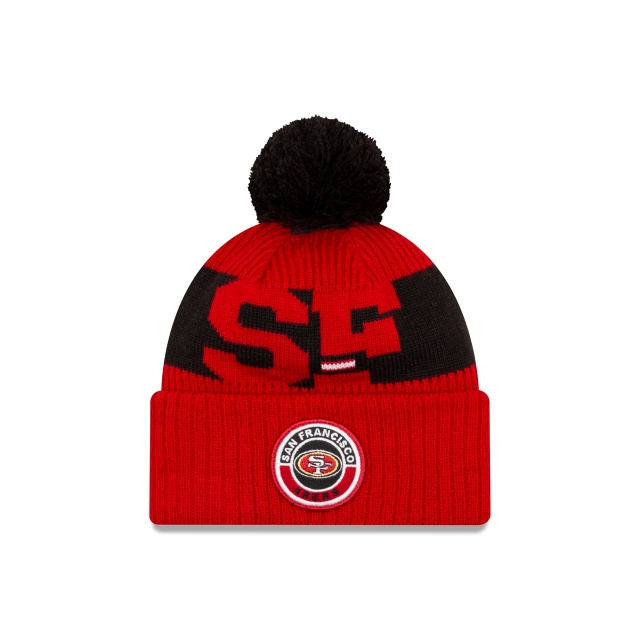 San Francisco 49ers NFL Cold Weather  Knit | Gorras de San Francisco 49ers | New Era México