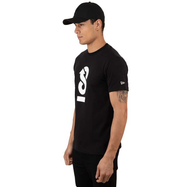 Playera Manga Corta New Era 100th Anniversary Negra | 100th Anniversary | New Era México